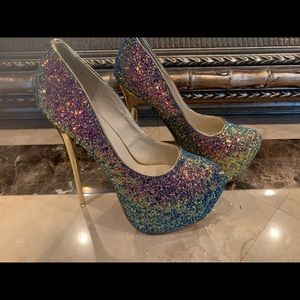 New Glitter Sexy Heels
